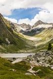Lago Dorfersee Fotografia Stock