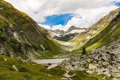 Lago Dorfersee Imágenes de archivo libres de regalías