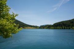 Lago Doxa, Grecia Fotografie Stock