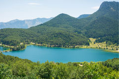 Lago Doxa, Grecia Fotografie Stock Libere da Diritti