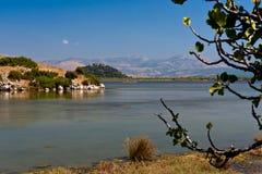 Lago Drepano Fotos de archivo libres de regalías