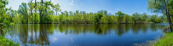 Lago Dubovoe Fotografie Stock Libere da Diritti