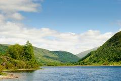 Lago Dughaill, Escocia Imagenes de archivo