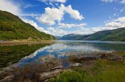 Lago Duich foto de archivo libre de regalías