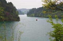 Lago Dujuan Foto de archivo libre de regalías