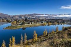 Lago Dunstan imagen de archivo libre de regalías
