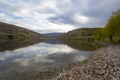 Lago Dunstan Fotos de Stock Royalty Free