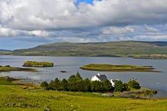 Lago Dunvegan Foto de archivo libre de regalías