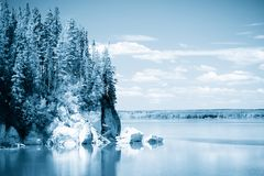 Lago e céu 3 Foto de Stock