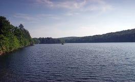 Lago e cielo Fotografie Stock