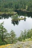 Lago e console Fotografia de Stock Royalty Free
