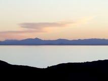 Lago e montagna Fotografia Stock Libera da Diritti