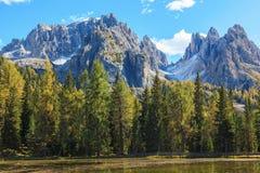 Lago e montagna alp Immagini Stock Libere da Diritti