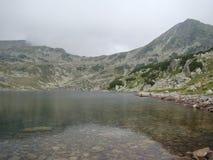 Lago e montagna glacier Fotografia Stock Libera da Diritti