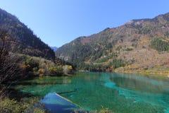 Lago e montagne Immagini Stock Libere da Diritti