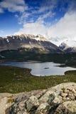 Lago e montagne Fotografia Stock Libera da Diritti