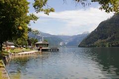 Lago e montagne austria Fotografie Stock Libere da Diritti