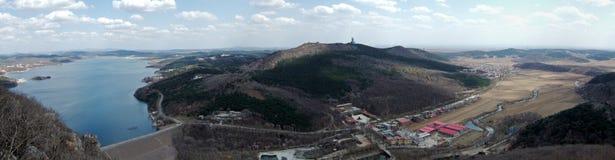 Lago e montanha Imagem de Stock
