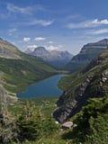Lago e montanhas Gunsight Imagem de Stock