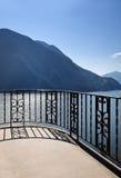 Lago e montanhas landscape fotografia de stock