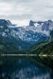 Lago e Mountain View Immagine Stock Libera da Diritti