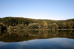 Lago e natura Fotografie Stock