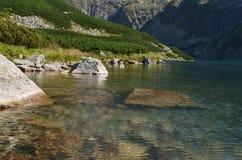 Lago e picco Immagine Stock Libera da Diritti