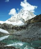 Lago e Ranrapalka di punta Immagini Stock