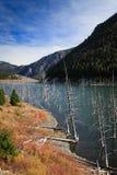 Lago earthquake, Montana imagem de stock