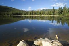 Lago echo de Evans CO da montagem imagem de stock