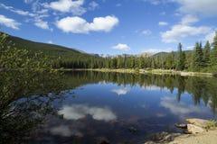 Lago echo de Evans CO da montagem fotografia de stock royalty free