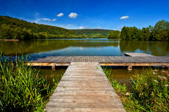 Lago echternach Immagine Stock