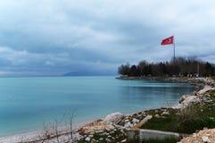 Lago Egirdir Fotografia Stock Libera da Diritti