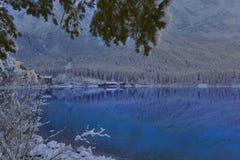 Lago Eibsee Imagenes de archivo