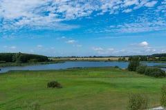 Lago Eixen do panorama fotografia de stock