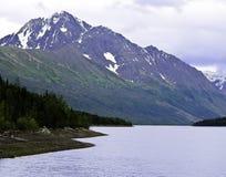 Lago Eklutna Imagenes de archivo