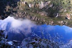 Lago el dormir del milenio de la diosa Imagenes de archivo