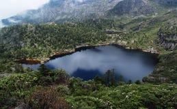 Lago el dormir del milenio de la diosa Foto de archivo