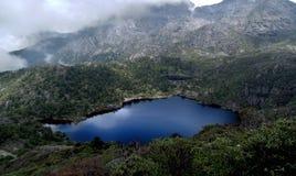 Lago el dormir del milenio de la diosa Fotografía de archivo