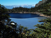 Lago el dormir del milenio de la diosa Imagen de archivo libre de regalías