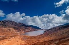 Lago elephant, valle di Kupup, Sikkim, India fotografie stock