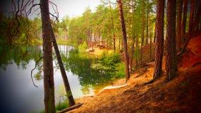 Lago Elovoe Fotos de archivo