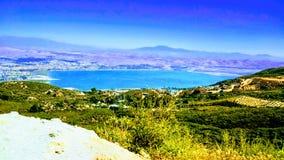 Lago Elsinore foto de stock
