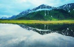 Lago em Alaska fotos de stock