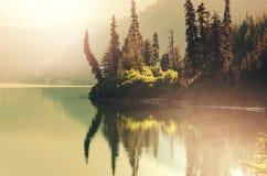 Lago em Alaska imagens de stock