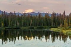 Lago em Alaska imagens de stock royalty free