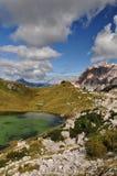 Lago em Armentarola Fotos de Stock Royalty Free