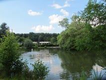 Lago em Bielefeld Fotos de Stock