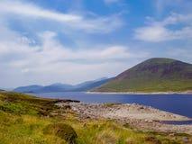 Lago em higlands da natureza de Escócia Foto de Stock Royalty Free