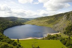 Lago em Ireland Fotografia de Stock